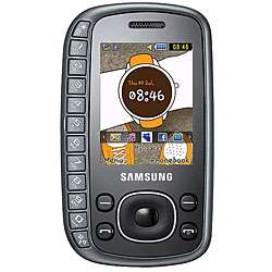Samsung B3310 Gray Unlocked GSM Slider Phone