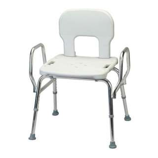 Eagle Health Heavy Duty Shower Chair with Back / Arms Home Medical