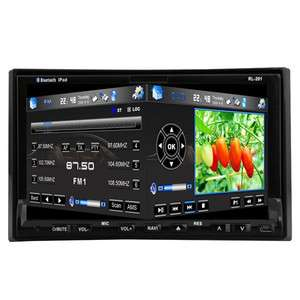 Screen 7 Car Stereo DVD CD Player GPS Nav Radio Bluetooth+Camera