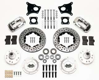WILWOOD DISC BRAKE KIT,FRONT,69 AMC RAMBLER,REBEL,POL,D