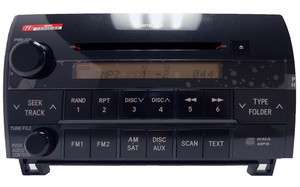 Toyota Sequoia Tundra Radio CD Player AD1812 86120 0C270 2007 2010