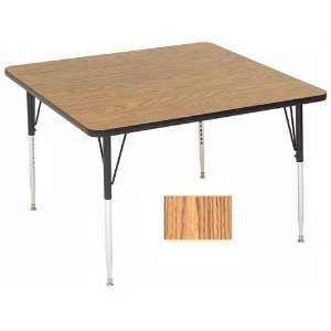Correll A4848 Sq 02 Square Activity Tables   Standard Legs