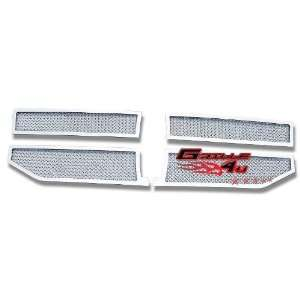 07 12 2011 2012 Lincoln Navigator Stainless Mesh Grille