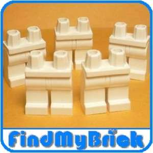 L002A x5 LEGO Star Wars Minifigure Legs   White   NEW