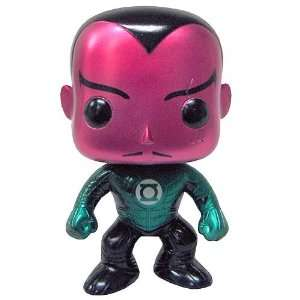 SDCC Green Lantern Movie Metallic Sinestro Pop Vinyl