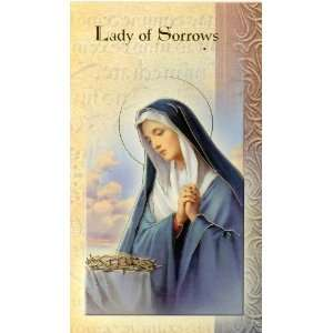 Lady of Sorrows Biography Card (500 029) (F5 235)