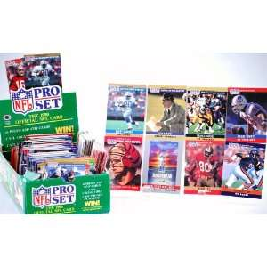 Football Trading Cards   Includes Super Bowl Cards / 1990 Pro Bowl