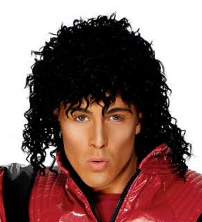 Michael Jackson Thriller Wig for Halloween Costume