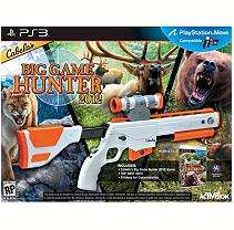 Cabelas Big Game Hunter 2012 with Gun   PS3