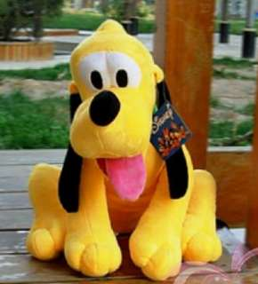 Disney Pluto Dog Big Large or Middle PLUSH STUFFED TOY 21   31