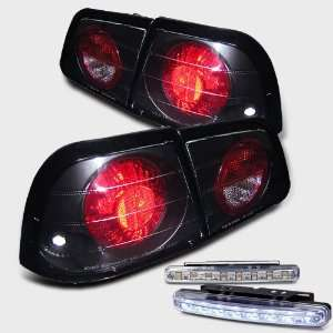 Eautolight 97 99 Nissan Maxima Tail Brake Lights+led Bumper Fog Brand