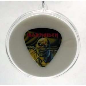 Iron Maiden Eddie Piece Of Mind Guitar Pick With MADE IN