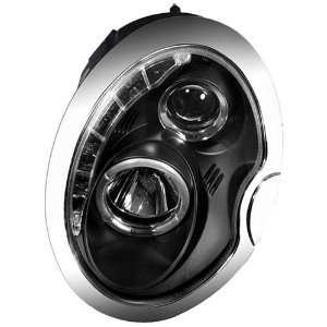 IPCW CWS 208B2 Mini Cooper Black Projector Head Lamp with