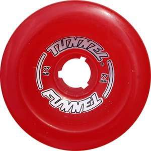 Tunnel Funnel 77mm 78a Cl.red Skateboard Wheels (Set of 4