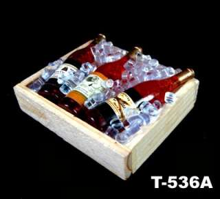 3Pcs Champagne Bottle Wine fridge magnet 5.8cm