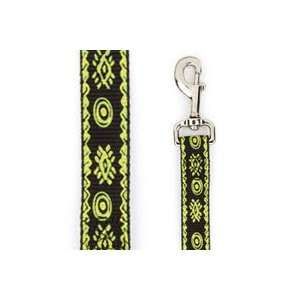 Casual Canine Artisan Prints Parrot Green Nylon Dog Lead