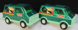 RETRO 1960s BUDDY L TOY SURFER VAN~SUN ROOF~BUBBLE WINDOW~GREEN~JAPAN