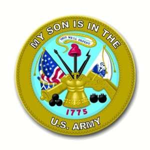 United States Army My Son is in the Army Seal Decal Sticker 3.8 6