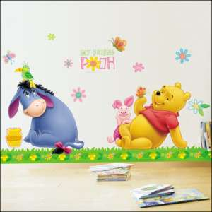WINNIE THE POOH&PICNIC Decor Wall Sticker KIDS NURSERY