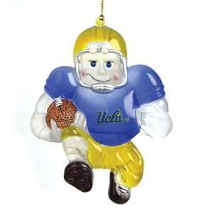 Pack of 2 NCAA UCLA Bruins Halfback Player Christmas