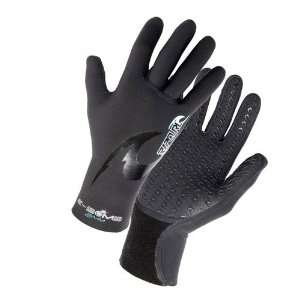 Rip Curl E Bomb 2mm 5 Finger Stitchless Gloves  Sports