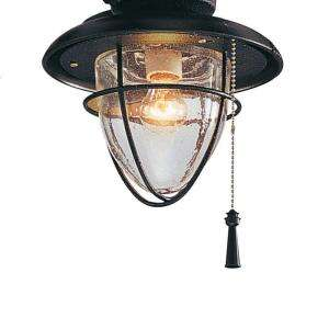 Hampton Bay Palm Beach 1 Light Gilded Iron Ceiling Fan Light Kit