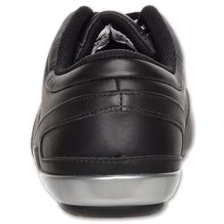 NEW Lacoste Futur 2 LC SPM Black Silver Casual Leather Mens Shoes Size