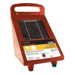 Red Snapr Solar Powered 3 Mile Fence Energizer LIS3