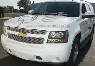 07 08 09 Chevy Tahoe Billet Grille Grill 4pc Combo