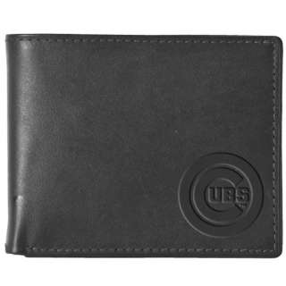 CHICAGO CUBS MLB Black Leather Wallet NEW