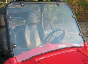 POLARIS RANGER RZR 800 RAZOR DOT RATED FULL QUICK RELEASE WINDSHIELD