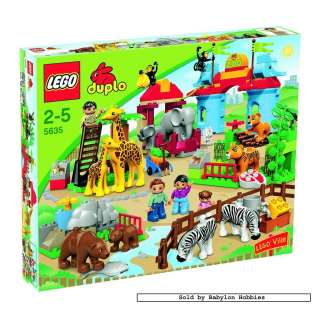 picture 1 of Lego Duplo   Big City Zoo (5635)