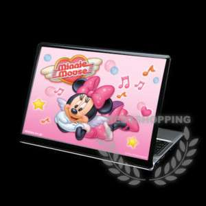 Cool Minnie Mouse Laptop Skin Cover Size 36cm   27cm