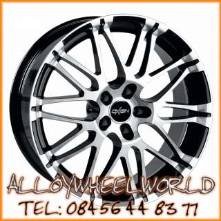 Oxigin Oxrock 11x20 Alloy Wheels in Black Polished Fac