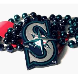 MLB Seattle Mariners Mardi Gras Necklace **