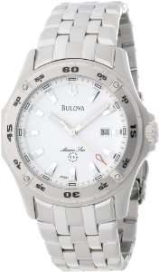 Bulova Mens 96G91 Marine Star Calendar Watch Bulova Watches