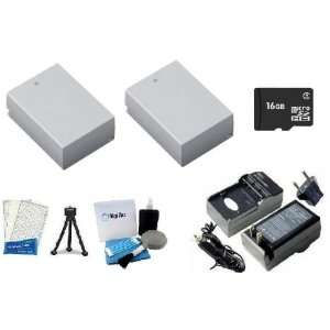 Tripod + LCD Screen Protectors + Digi Pro Cleaning Kit for Canon SX40