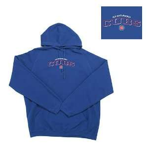 Chicago Cubs MLB Goalie Hooded Sweatshirt (Dark Royal Blue