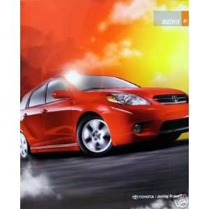 2007 Toyota Corolla Matrix wagon vehicle brochure