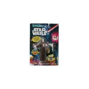 Star Wars Obi Wan Kenobi with Topps trading card Toys & Games