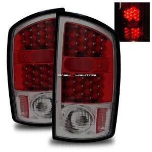 02 06 Dodge Ram LED Tail Lights   Red Smoke Automotive