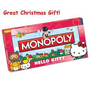 Christmas Gift Monopoly Hello Kitty Collectors Edition