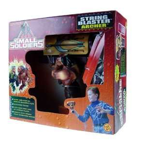 Small Soldiers String Blaster Archer Figure Playset Toys & Games