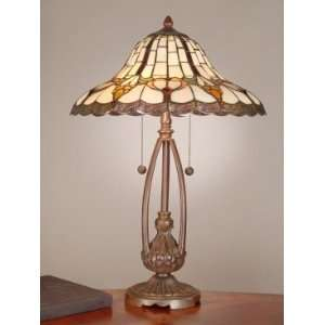 Dale Tiffany Esterlund Table Lamp with Antique Bronze