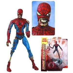 Marvel Zombies Spider man action figures (Marvel Select) toys  Toys