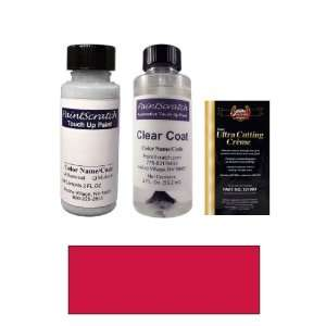 2 Oz. Bright Red Pearl Metallic Paint Bottle Kit for 1988