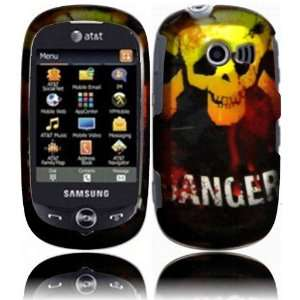 Danger Hard Case Cover for Samsung Flight 2 II A927 Cell