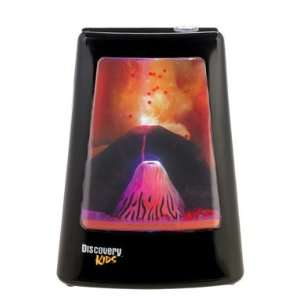 Discovery Kids Animated Lamp   Volcano