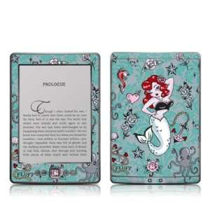 Molly Mermaid Design Protective Decal Skin Sticker   Matte