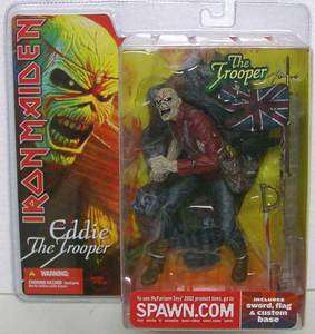 Iron Maiden EDDIE The Trooper Action Figure McFarlane Toys rock n roll